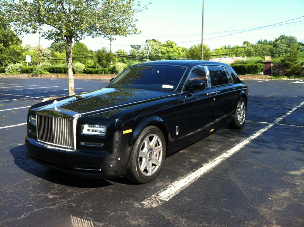 Black Rolls Royce Phantom Ii Reliance Ny Group