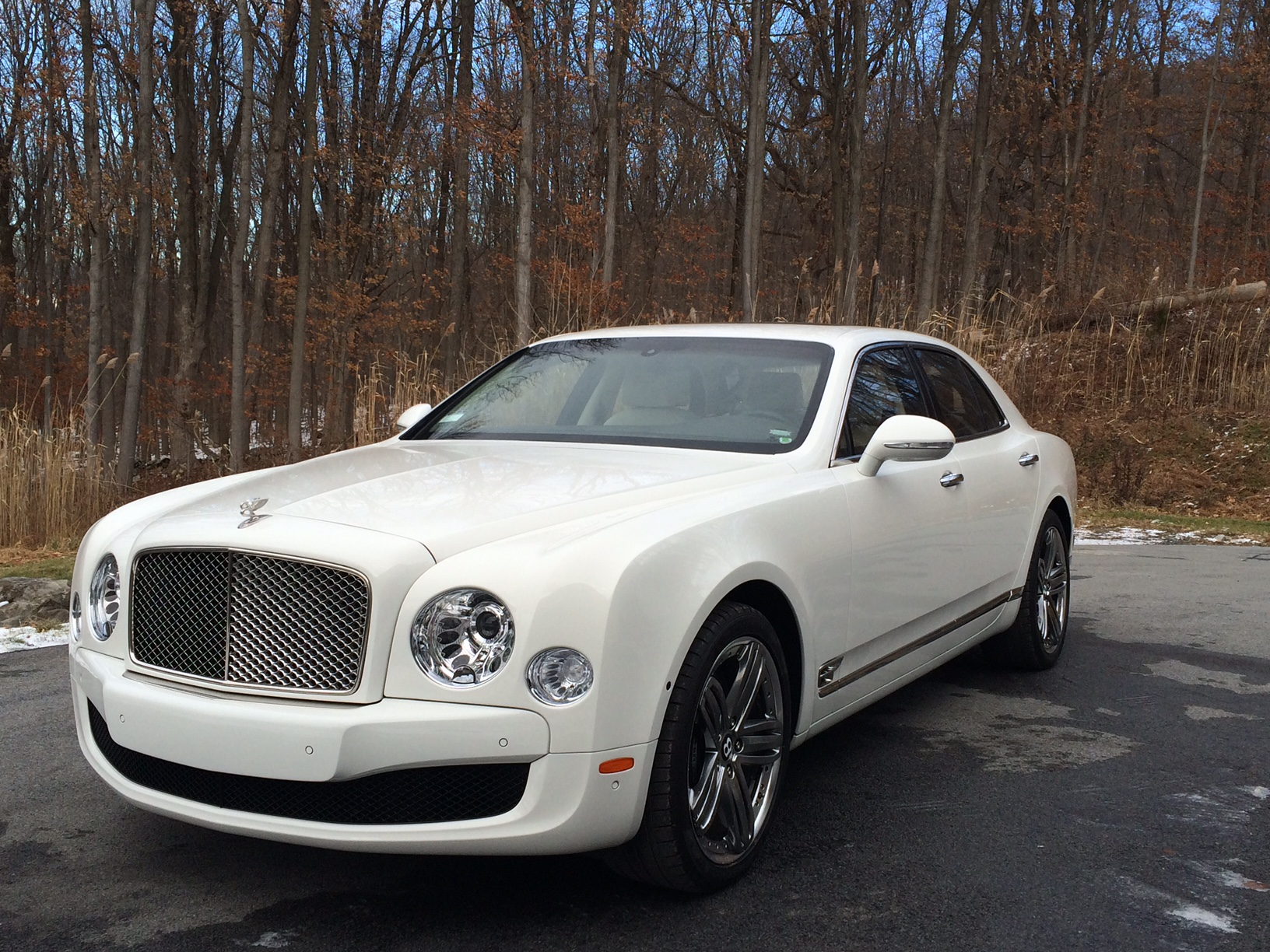 White Bentley Mulsanne Reliance Ny Group