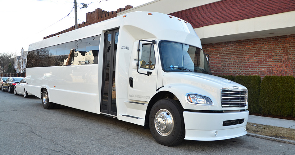 35 Passenger Party Bus Rental Services In Nyc