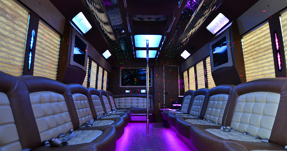 35 Passenger Party Bus Reliance Group Ny