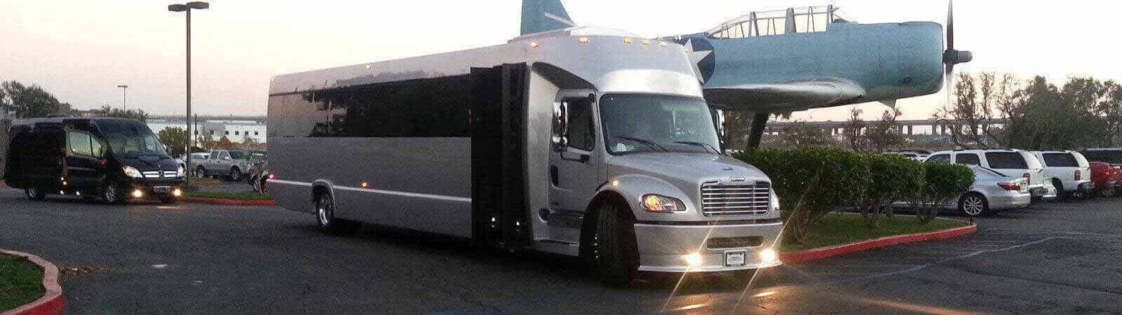 executive party bus rental