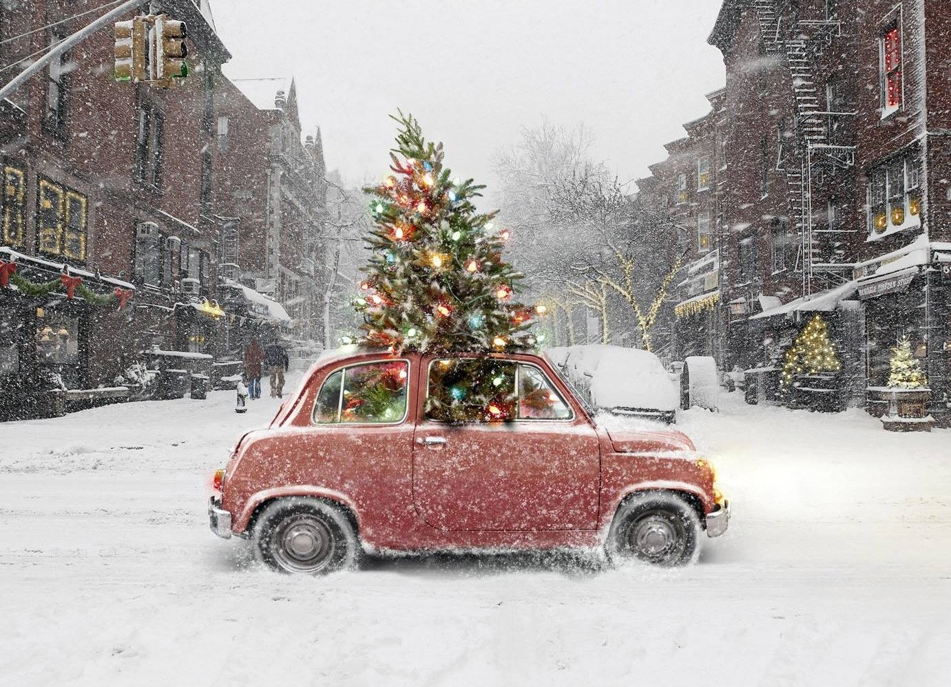 Christmas limo rental NYC