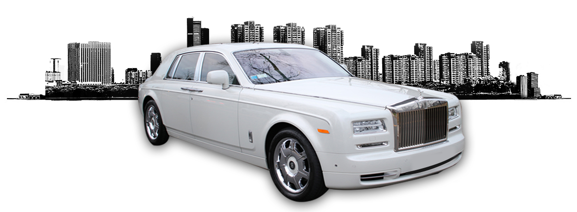 white rolls royce phantom ii