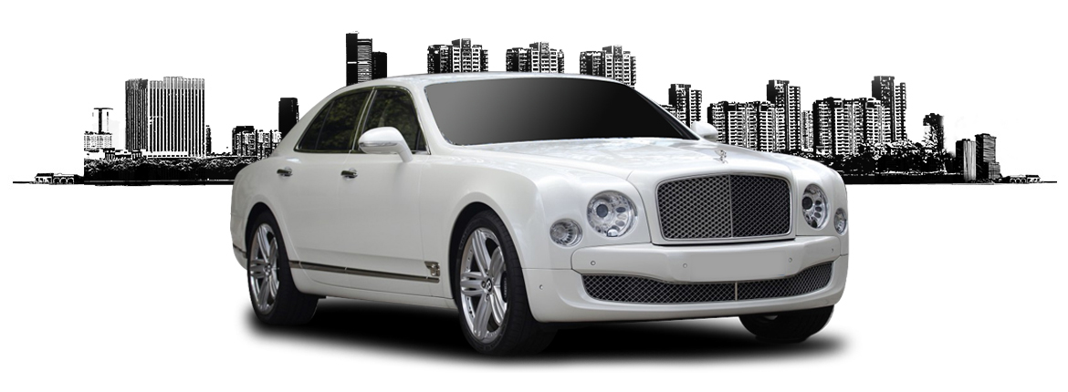 white bentley mulsanne