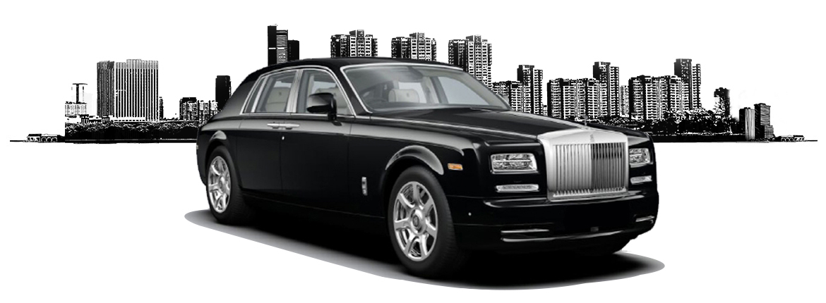 black rolls royce phantom ii