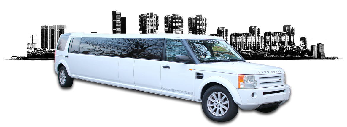 14 passenger land rover limo